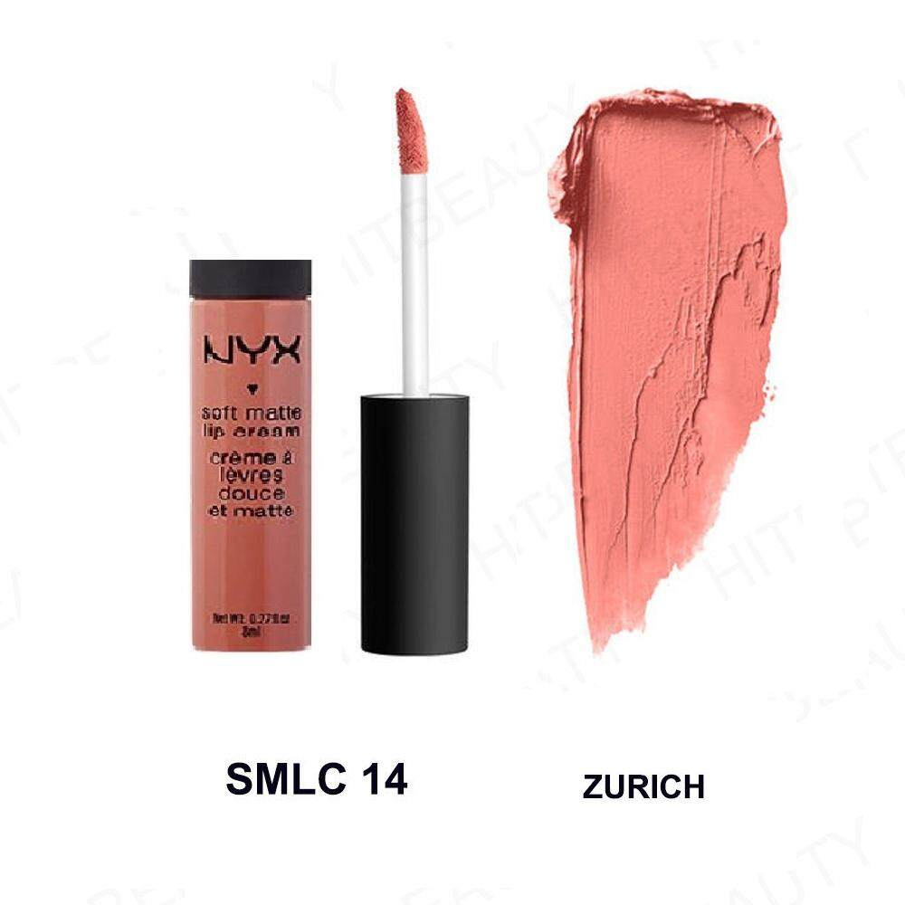 NYX Cosmetics Soft Matte Lip Cream Liquid Gloss Lipstick Long Lasting