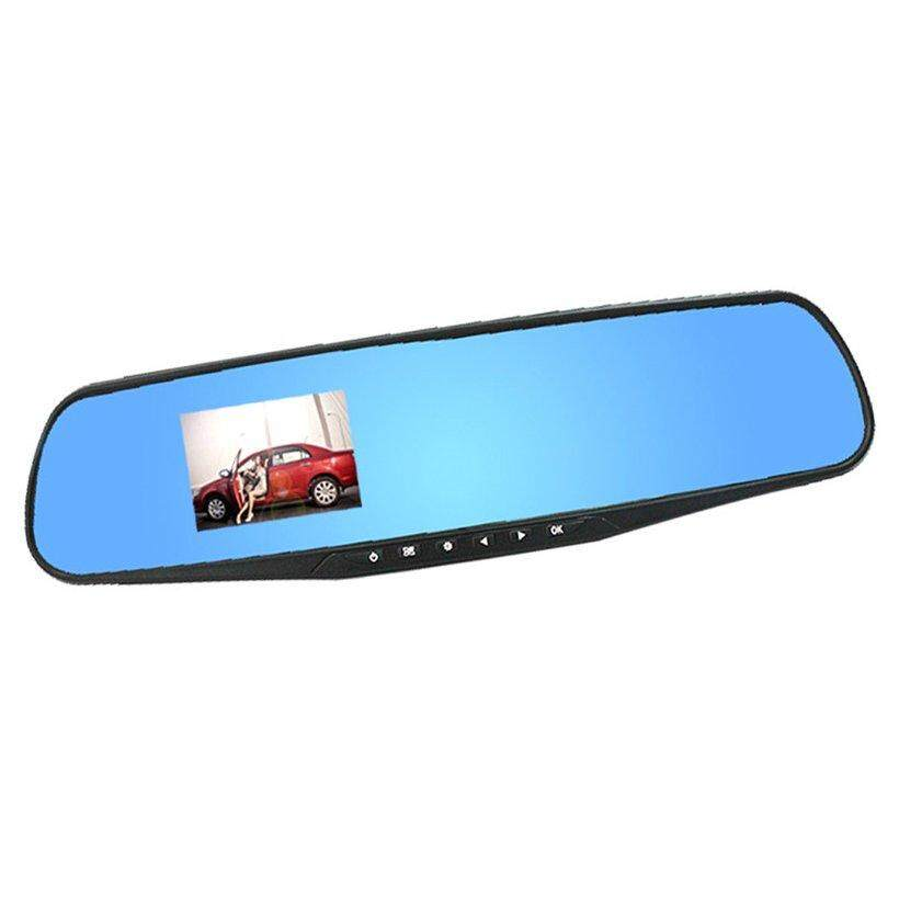 "BELLE 2.8"" 1080P Dash Cam Video Recorder Rearview Mirror Car Camera Vehicle DVR"