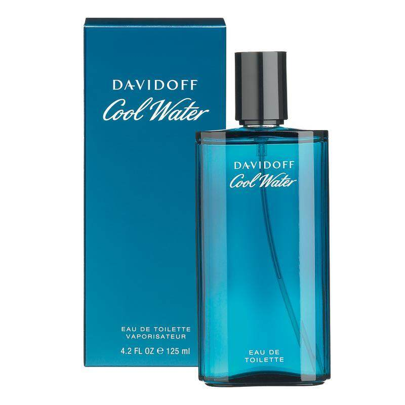 Davidoff Cool Water For Men EDT 125 ml. (พร้อมกล่อง)