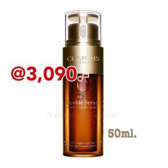 Clarins Complete Age Control Double Serum 50ml.แท้ 100%