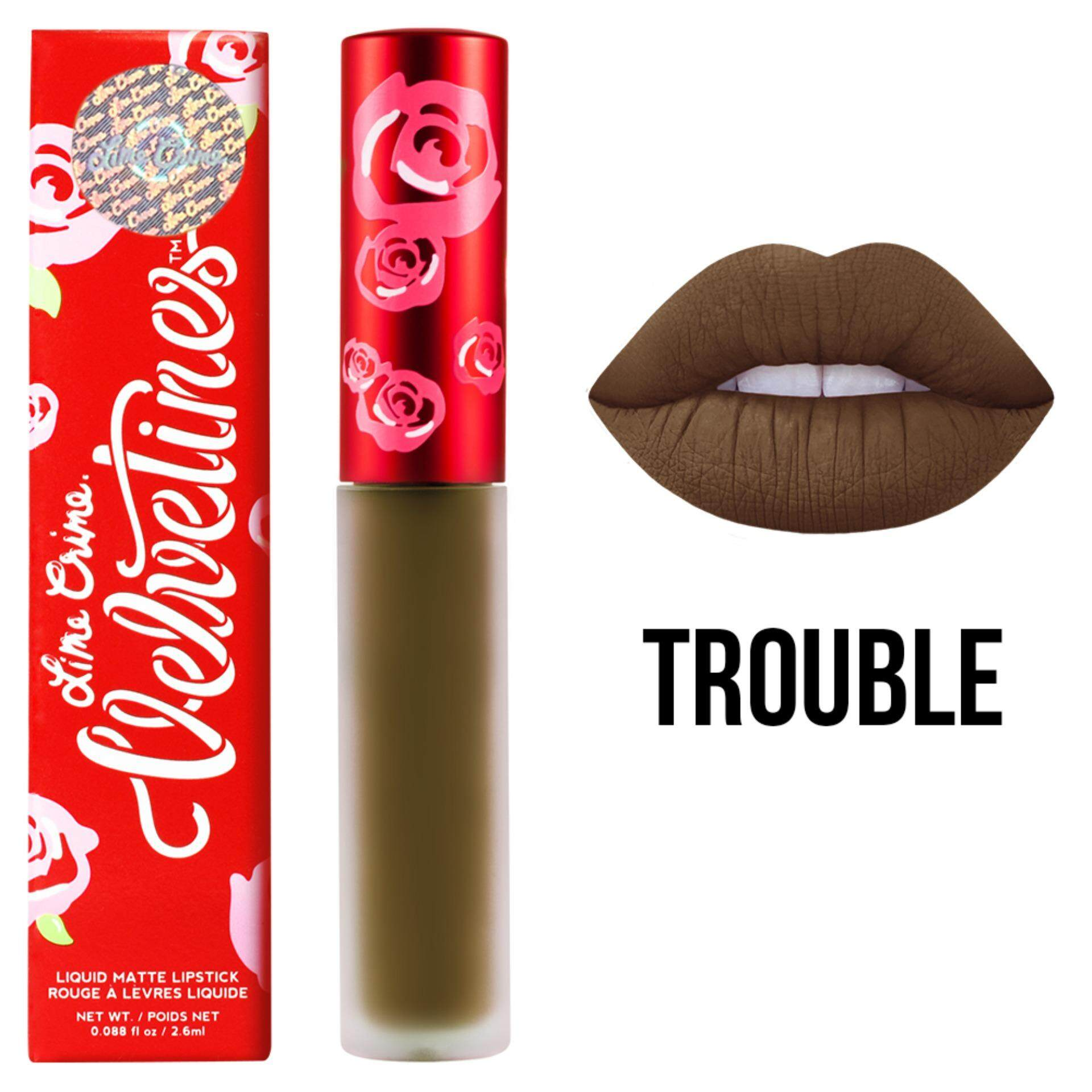 Lime Crime Velvetines #Wicked 2.6 ml. (Blood Red)