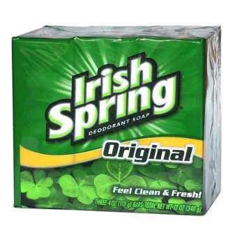 แนะนำ IRISH SPRING ORIGINAL BAR SOAP 3 ก้อน