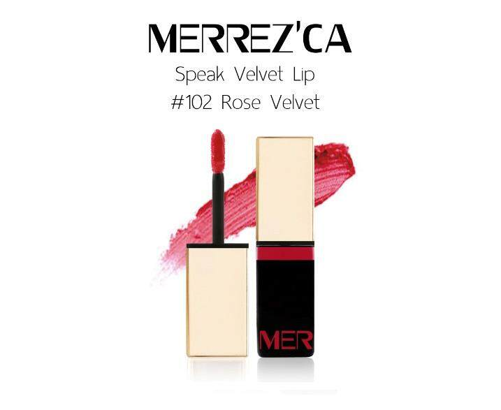 Merrez'ca Speak Velvet Lip #102 Rose Velvet