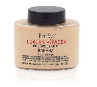 แนะนำ ✿❀✿Banana Powder - Ben Nye - 42gr แป้งฝุ่นผสมรองพื้น✿❀✿