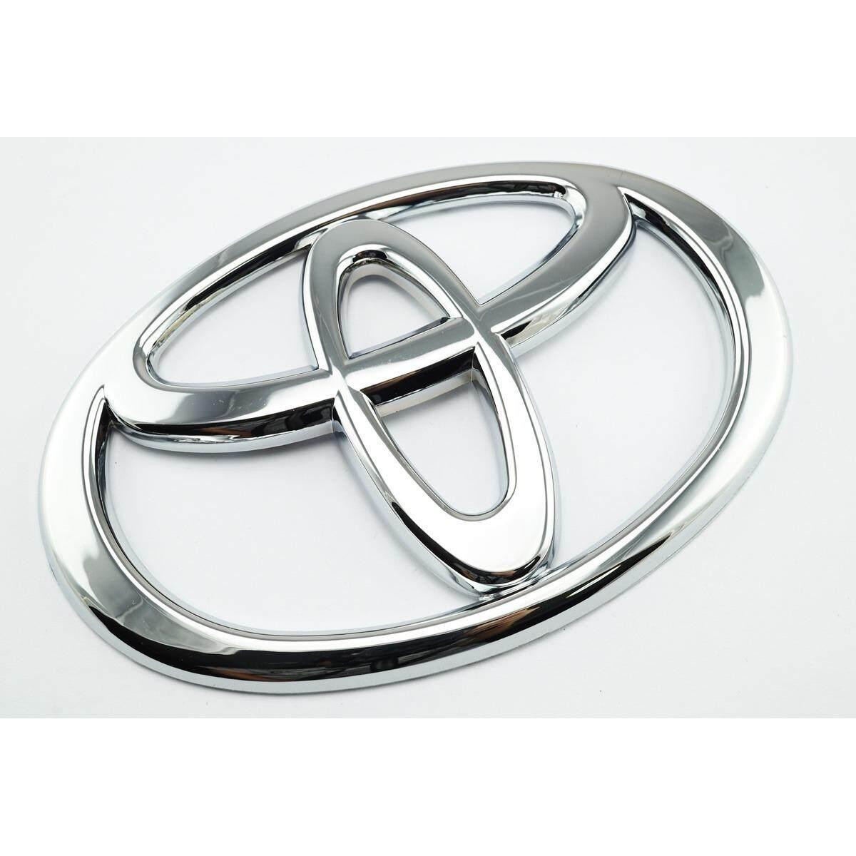 Paiboon-Autoparts Toyota Black 3D Trd Metal Ladge Logo Emblem Sticker Decal
