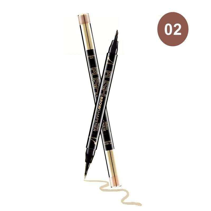 (1 แท่ง) ดินสอเขียนคิ้วเนื้อเจล มิสทีน พุช บราว เชพเพนเนอร์ / Mistine Push Brow Shapener