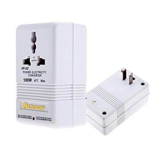 110V to 220V Step Up//Down Voltage Converter 300W Watt Adapter Transformer Travel