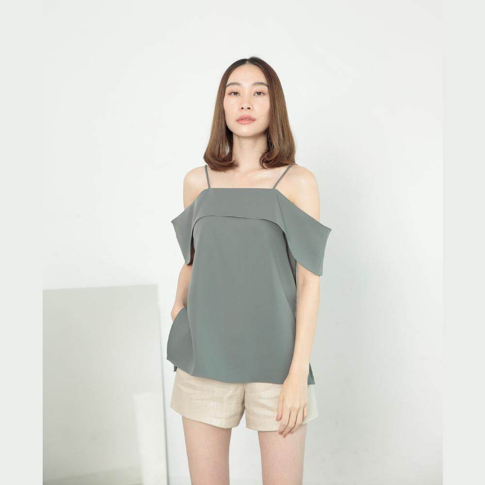Kanni Studio - JELLY Top in green color