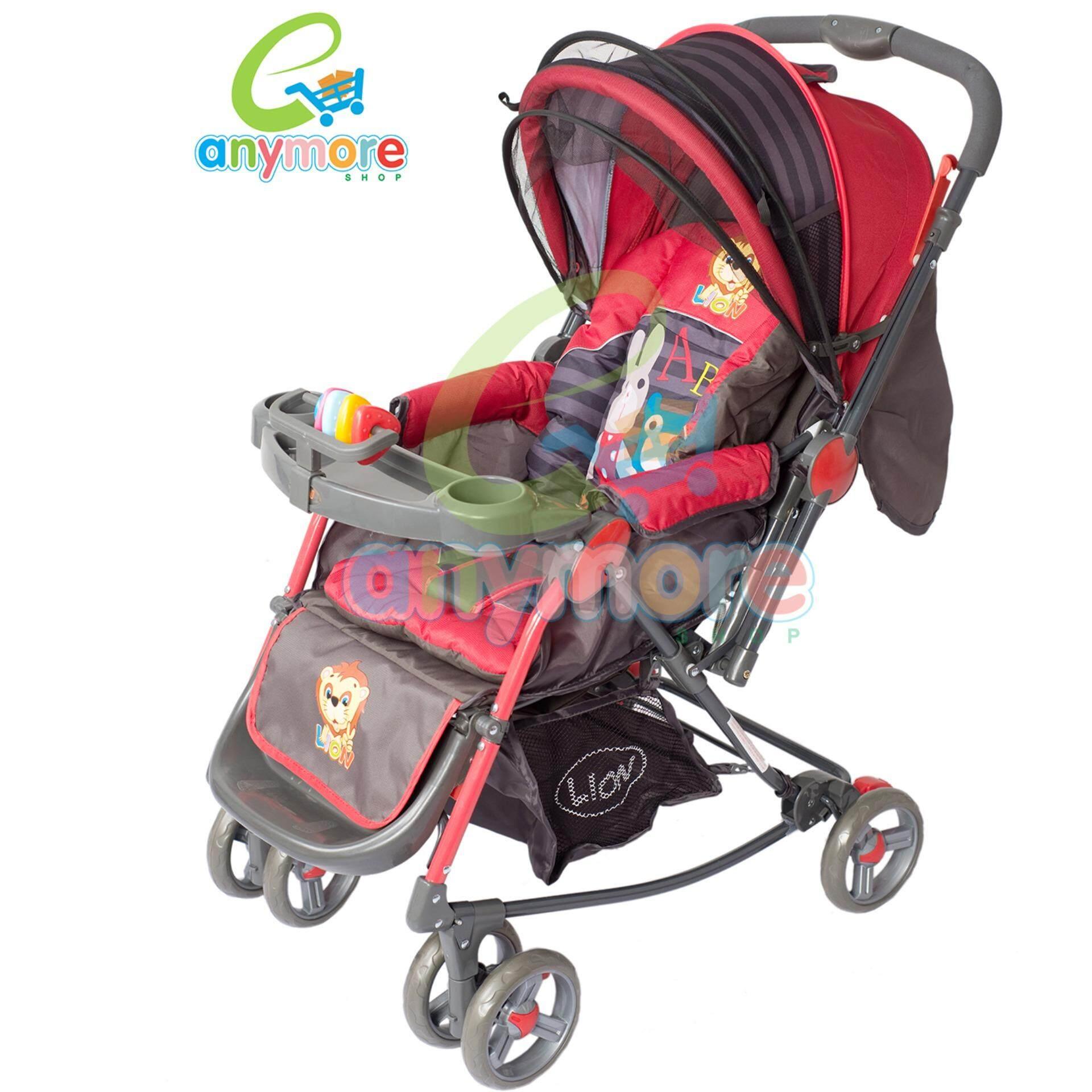 ของแท้ และรับประกัน Oemgenuine รถเข็นเด็กแบบนอน รถเข็นเด็ก ปรับได้ 4 ระดับ น้ำหนักเบา รองรับหนักได้ถึง25KG baby รับประกันการคือสินค้า