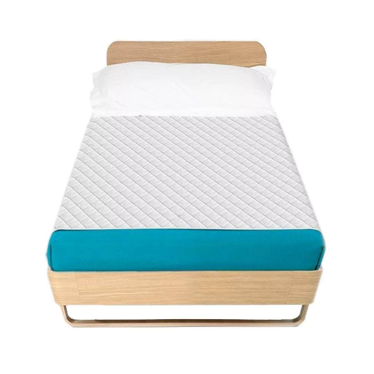 Supersorber ผ้ารองเตียงซับน้ำ Single Size พร้อมผ้าสอดใต้เตียง 105 x 140 ซม.