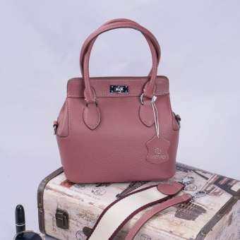 Tbox20 กระเป๋าหนังแท้ กระเป๋าแฟชั่นผู้หญิง กระเป๋าสะพายข้าง-