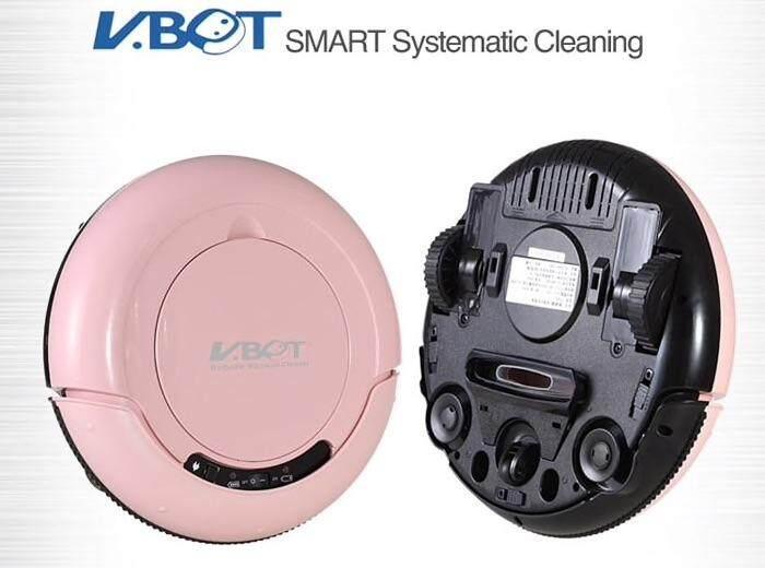 หุ่นยนต์ดูดฝุ่น V Bot Robot vacuum cleaner