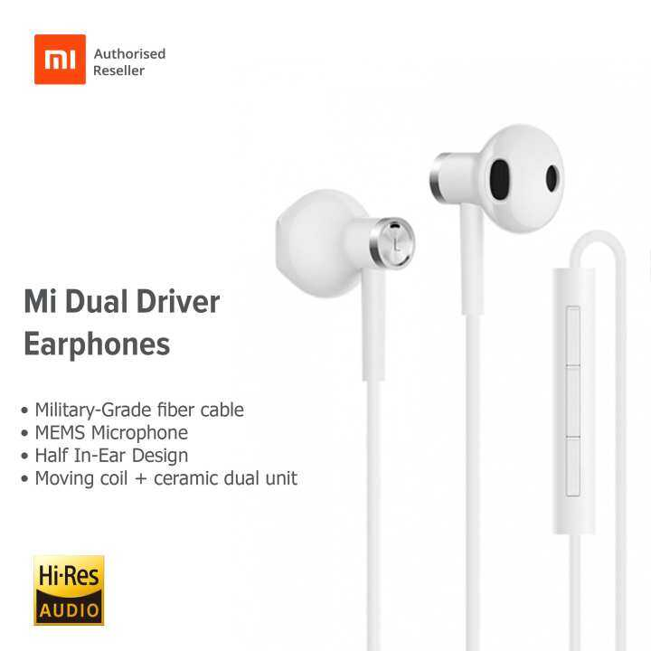 995168edfdc แนะนำ Mi Dual Driver Earphones | Tom Electronic Sales