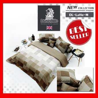 Dunlopillo ชุดผ้าปู 6ฟุต 5ชิ้น DL-Latte-M