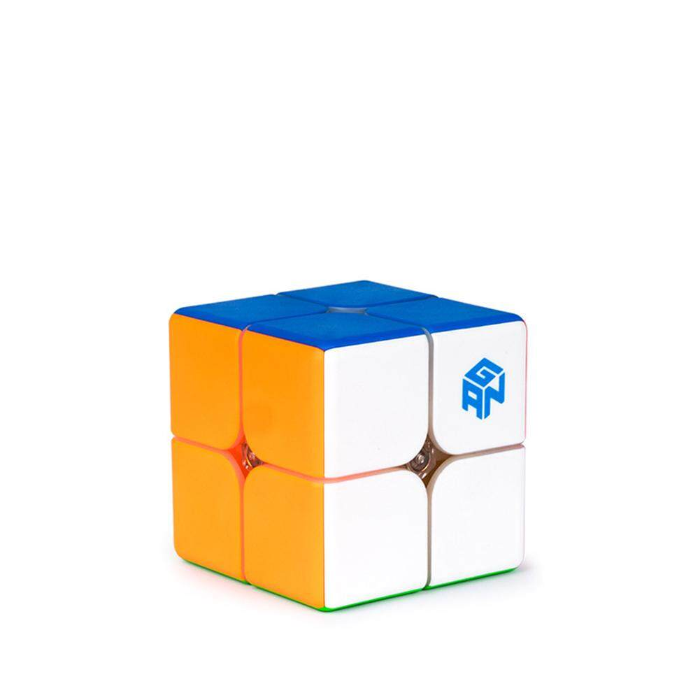 GAN249 V2 2x2 Speed Magnetic Cube Stickerless GAN 249 2x2x2 Magic Cube Puzzle Toy (49mm) - intl