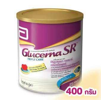 GLUCERNA กลูเซอนา เอสอาร์ ทริปเปิ้ลแคร์ 400 กรัม-