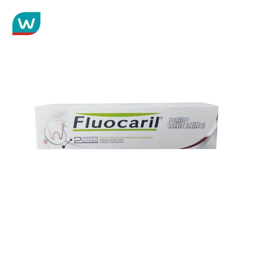Fluocaril ฟลูโอคารีล ยาสีฟัน เฮลตี้ ไวท์เทนนิ่ง 160 กรัม