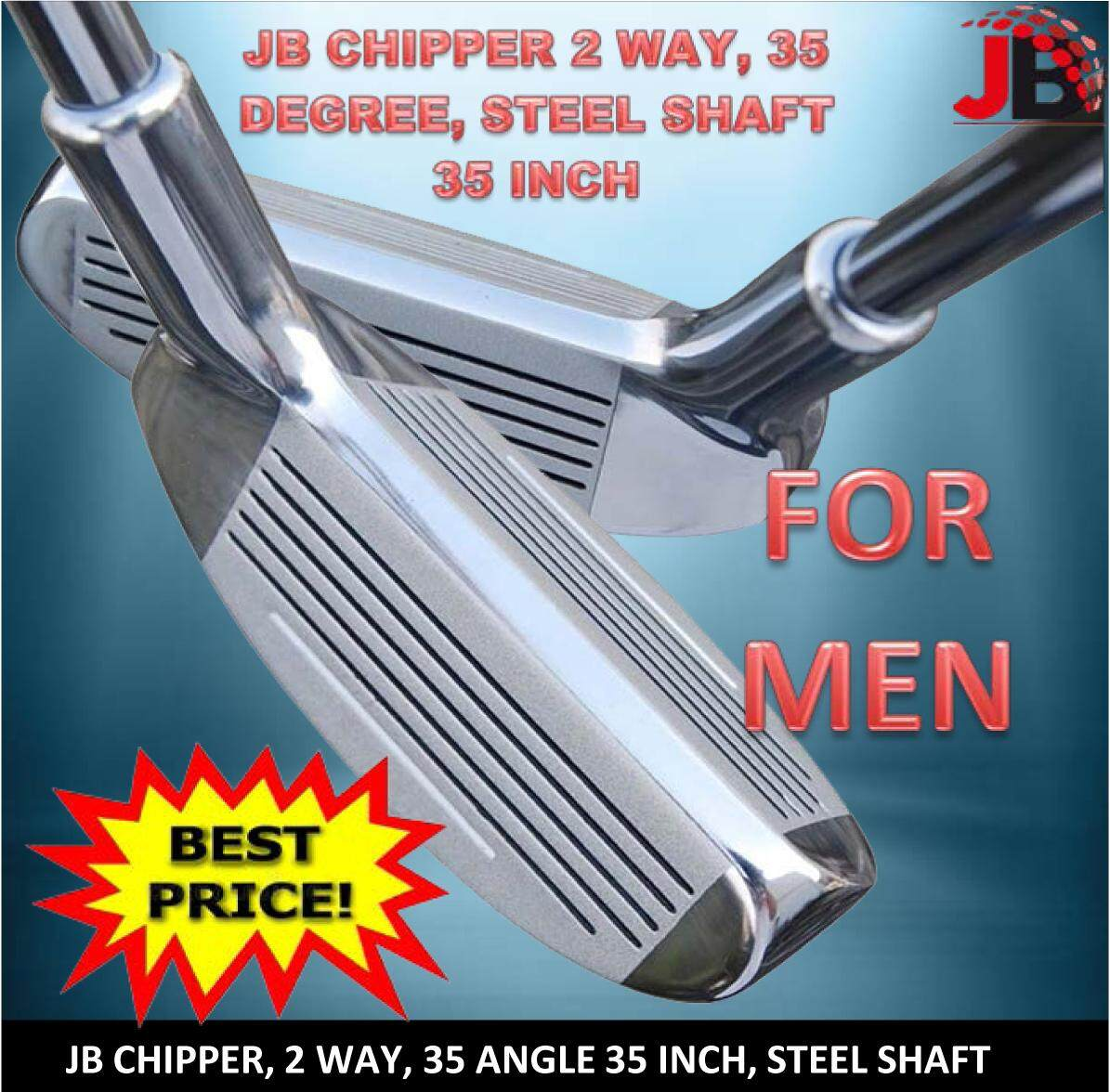 JB Chipper Two Ways (Left-Right) Angle 35 Degree (35 Inch) for Man