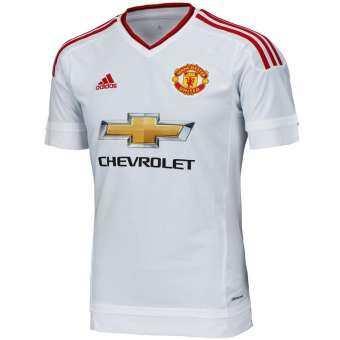 Adidas เสื้อฟุตบอล Manchester United Away Jersey 15/16 AI6363 (White)-