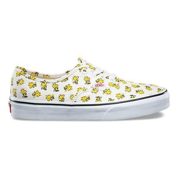 VANS รองเท้า แฟชั่น แวน CV Shoes Peanuts Authentic Woodstock/Bone VN0A38EMOQZ (3100)