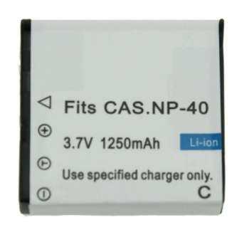 แบตกล้องรหัส NP-40 / CNP40 แบตเตอรี่กล้องคาสิโอ Casio EX-Z30 EX-Z40 EX-Z50 Z57 EX-Z300 .-