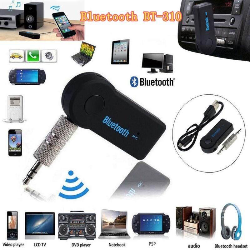 3.5mm Wireless USB Mini Bluetooth Music Car Receiver Transmitter Adapter  ^P