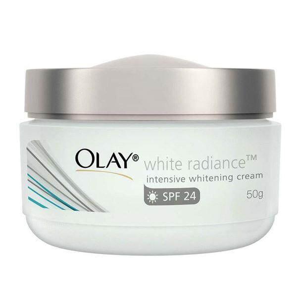 OLAY White Radiance Intensive Whitening Cream SPF 24 UV Protection โอเลย์ ไวท์เรเดียนซ์ อินเทนซีฟ ไวท์เทนนิ่ง ครีมบำรุงผิวกระจ่างใส 50ml.