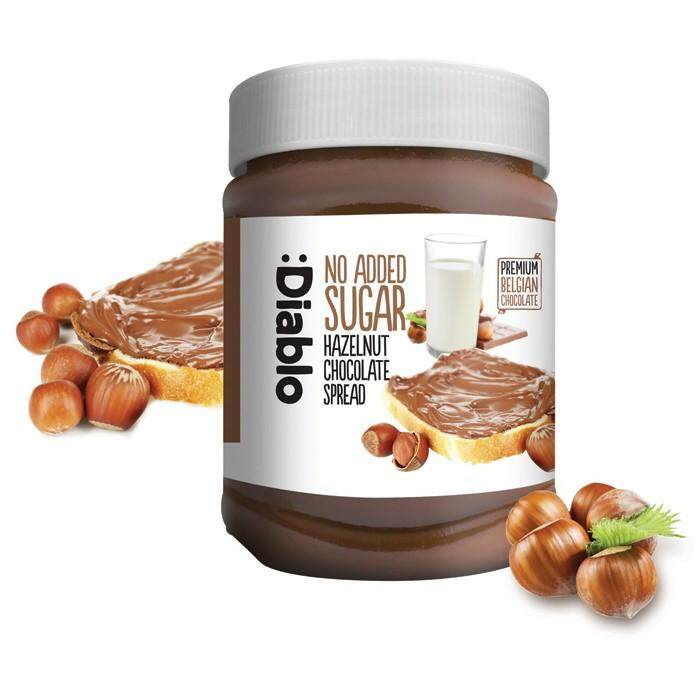 Diablo No Added Sugar Hazelnut & Chocolate Spread with Sweetener 350g