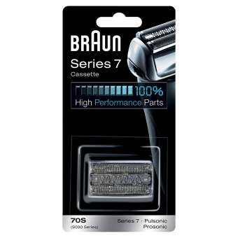 Braun 70S (9000 Series) Pulsonic หัวเปลี่ยน เครื่องโกนหนวด สำหรับ Series 7 Head Shaver, Head Replacement