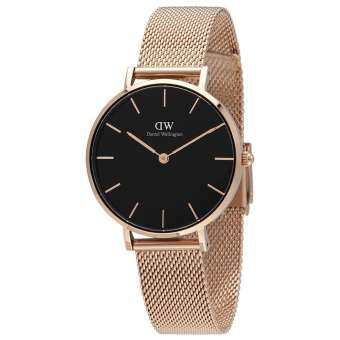 Daniel wellington Dw classic black petite melrose 36mm นาฬิกาแฟชั้นDW004