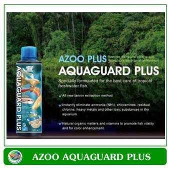 AZOO Plus AQUAGUARD Plus 250 ml น้ำยาปรับสภาพน้ำ ลดคลอรีน โลหะหนัก สารพิษในน้ำ-