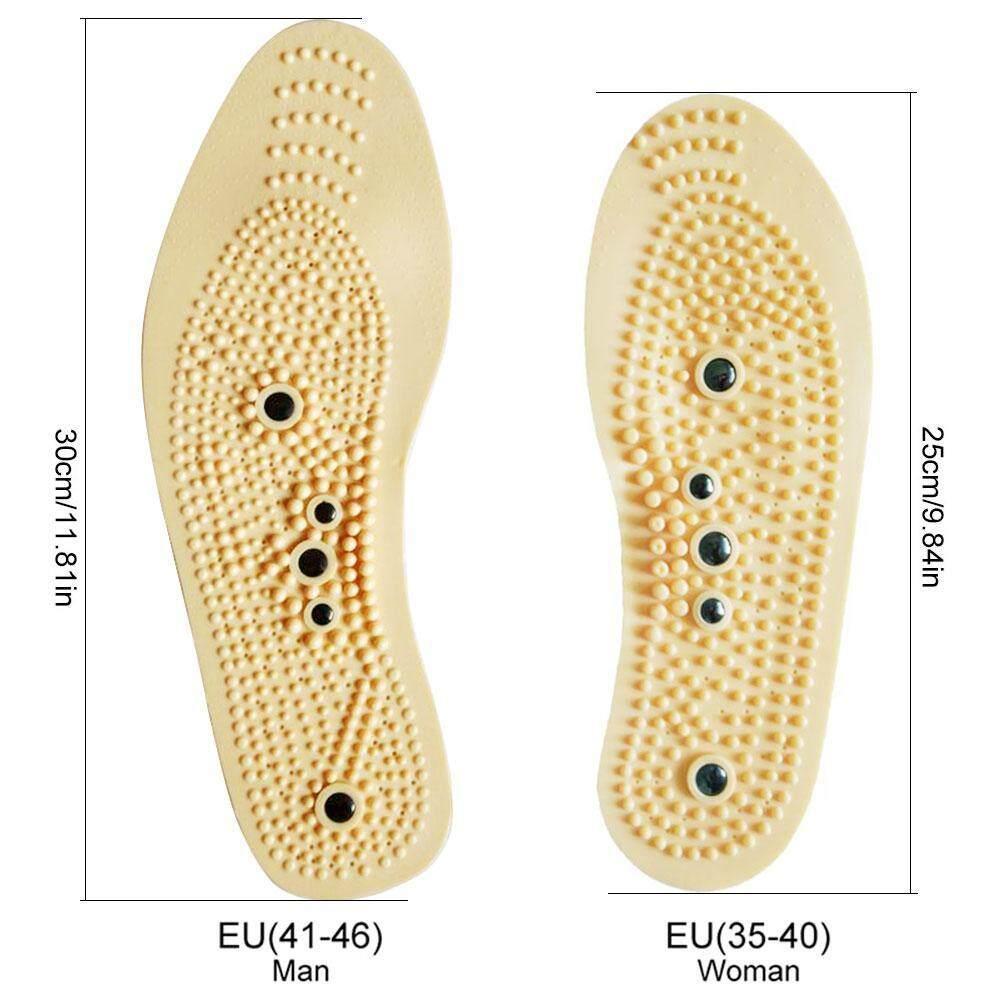 Image 2 for OutFlety Magnetic Therapy นวดพื้นรองเท้า, ต่อสู้กับ Plantar Fasciitis บรรเทาความเจ็บปวดสำหรับผู้ชายผู้หญิง (1 คู่)