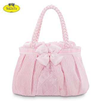 กระเป๋าถือ NaRaYa Satin Pleated with with Bow