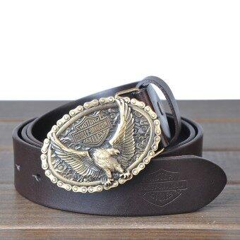 เข็มขัดทองแดงอิตาเลี่ยนชั้นแรกของเข็มขัดหนังผู้ชายเข็มขัดหนังเข็มขัด LP2013050-1 - นานาชาติ