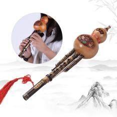 Trung Quốc Handmade Tre Đen Hulusi Bầu Cucurbit Flute Dân Tộc Nhạc Cụ Key Of C Với Trường Hợp Cho Người Mới Bắt Đầu Âm Nhạc Những Người Yêu Thích