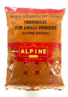 พริกแดงป่น Alpine Teekhalal Red Chilli Powder 500gm