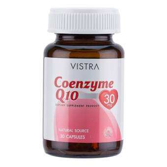 VISTRA Coenzyme Q10 Natural Source (30 Capsules)