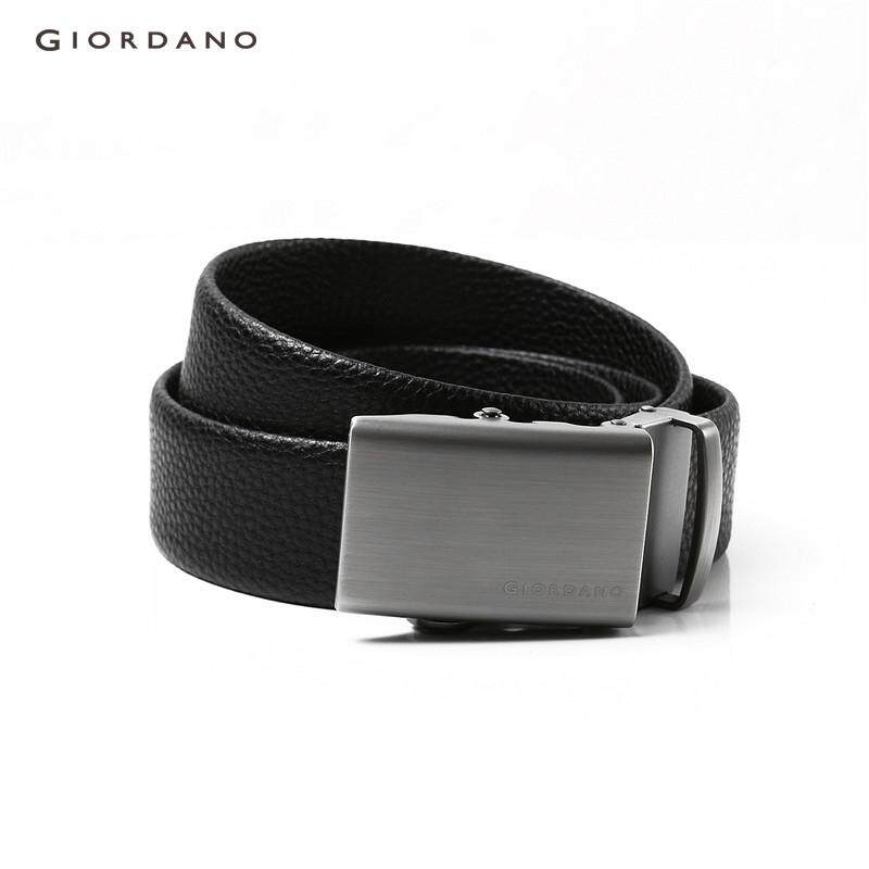 Giordano Men Two-layer leather automatic buckle belt [Free Shipping] 01138067