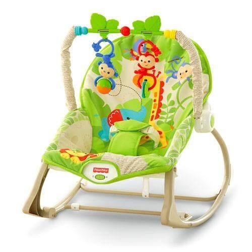 แนะนำ Getgoods เปลโยก-สั่น มีโมบายน่ารัก ibaby Infant-to-toddler Rocker