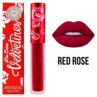 Lime Crime Velvetines #Red Rose 2.6 ml. (Ruby Red)