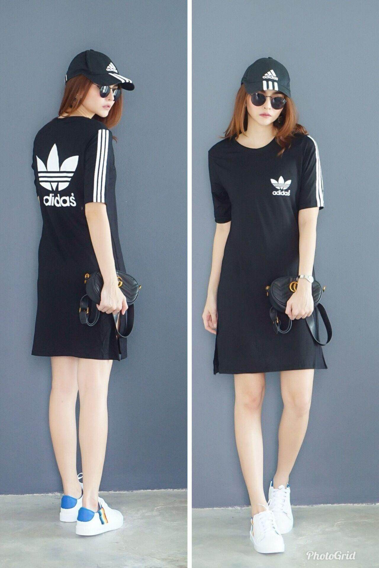 Adidas Women's Fashion Casual Comfortable Dress