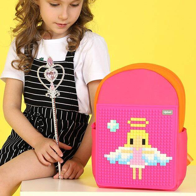 Upixel  Rainbow Island Backpack – Fuchsia