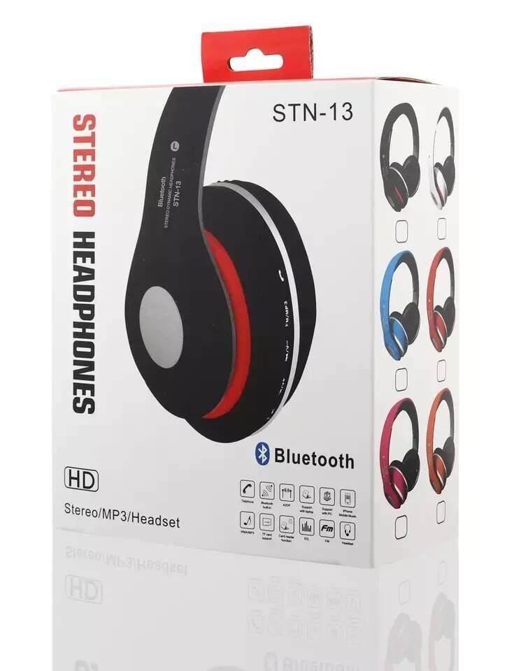แนะนำ  หูฟังบลูทูธbluetoothรุ่นSTN-13 เสียงใสมาก