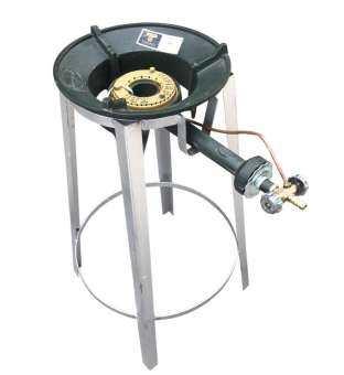 ชุดเตาแม่ค้าไฟแรง Gmax หัวเตา KB5+ขากลมสูง70เซนติเมตร-