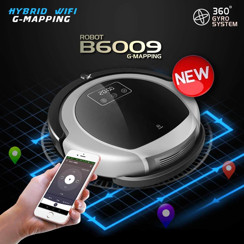 มีใครซื้อ  Liectroux B6009 WIFI หุ่นยนต์ดูดฝุ่นและถูพื้นแบบแท็งค์น้ำ ระบบ Gyro-Mapping UV ฉลาดอย่างมีระเบียบ พร้อมคู่มือภาษาไทย BY DigilifeGadget เว็บไหนถูกสุด