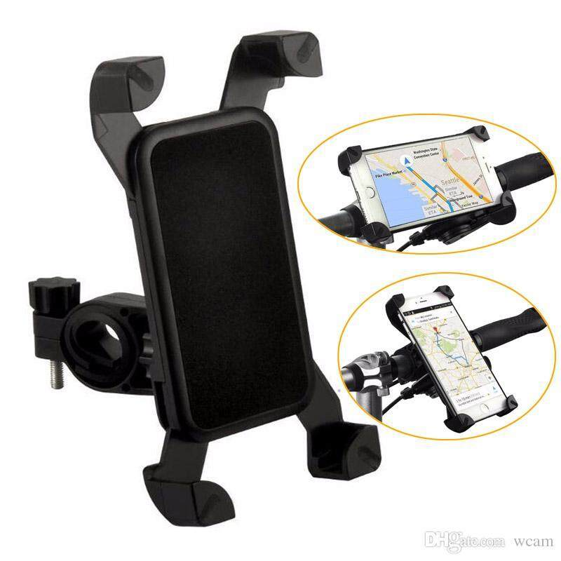 Quaulity Universal Bike Bicycle Cell Phone Mount Holder (Black)