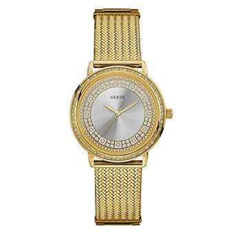 GUESS Silver-Toned Analogue Ladies Watch W0836L3