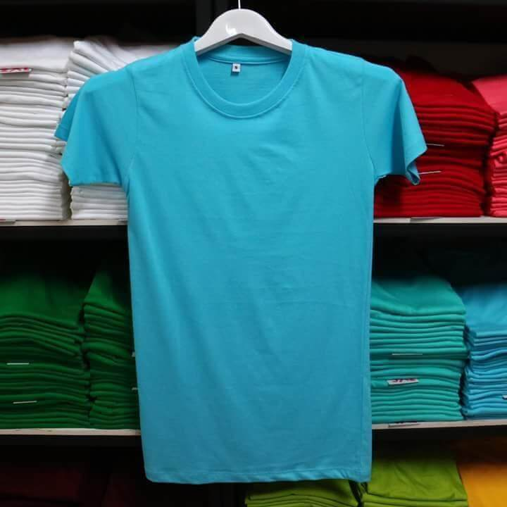 T-Shirt-Pure-Cotton 100%-Made in Thailand-Soft-Cotton-T-Shirt เสื้อยืด