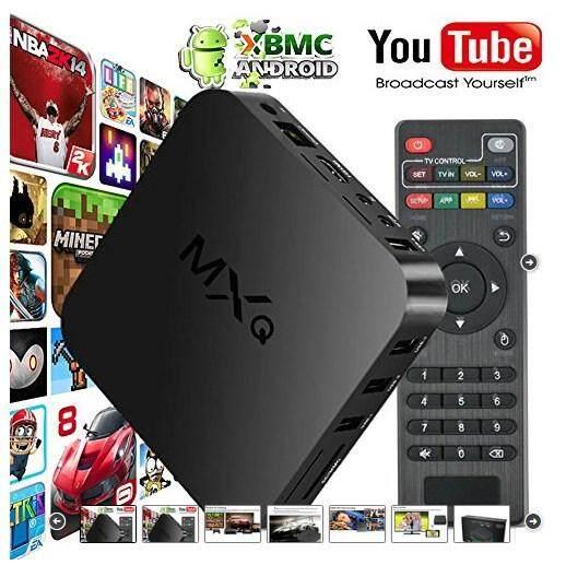 Astro MXQ OTT Android Smart TV Box-Quad Core Full HD 1080P /Media