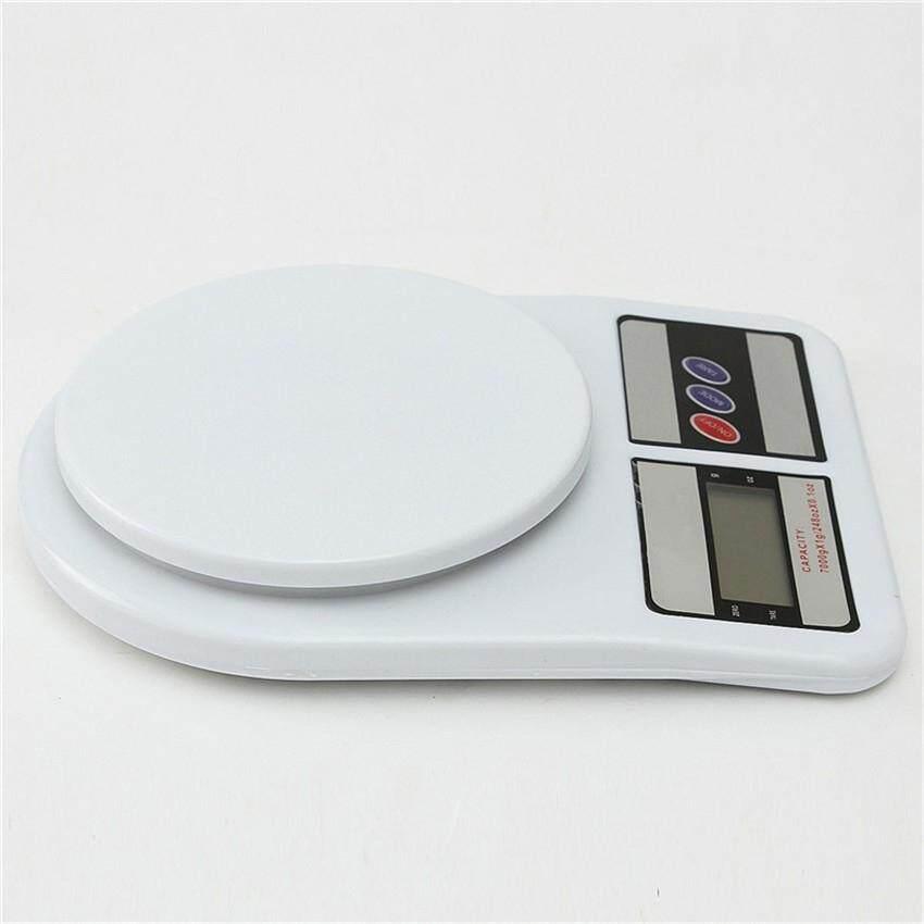 Image 2 for สินค้ามาใหม่!! ตาชั่งผลไม้สีขาว ตาชั่งผัก ตาชั่งในห้องครัว Max 10 Kg. รุ่น SF-400 (White)